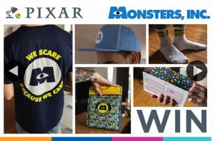 Zing Pop culture – Win a Monsters Inc Merchandise Pack