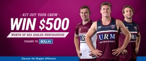 Bioglan – Win a Manly Warringah Sea Eagles merchandise prize pack valued at $500