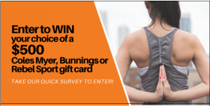 Brauer Natural Medicines – Win a $500 Coles Myer, Bunnings or Rebel Sport gift card