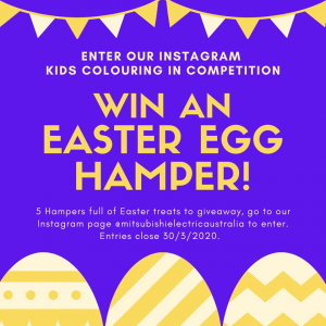 Mitsubishi Electric Australia – Win 1 of 5 Easter hampers
