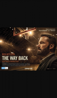 AccessReel – Win an In Season Double Pass to See The Way Back Starring Ben Affleck