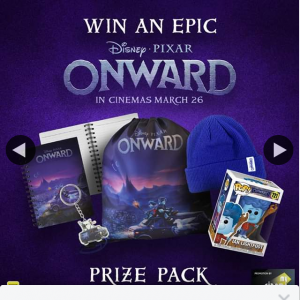 ACE Cinemas – Win The Disney and Pixar Onward Pack Pictured