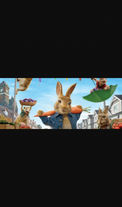 Adealide Aquatic Centre – Win Movie Tickets to Peter Rabbit™ 2 (prize valued at $50)