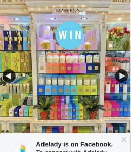 Adelady – Win $250 In Glasshouse Fragrances (prize valued at $250)