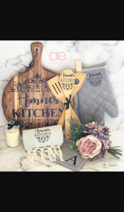 AE Creations – Personalised Chopping Board