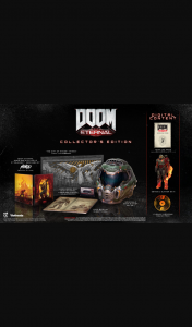AK Racing – Win a Doom Eternal Collector's Edition