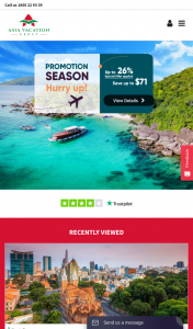Asia Vacation Group – Win a Trip for Two to Vietnam and Travel Later