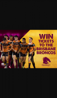 4BC – Win a Two Tickets to The Next Broncos Home Game (prize valued at $84)