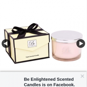 Be Enlightened Scented Candles – Win a Luxury Candle Valued at $159.99 (prize valued at $160)