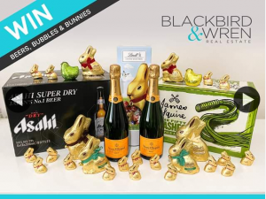 Blackbird & Wren Real Estate – Win Beers Bubbles & Bunnies