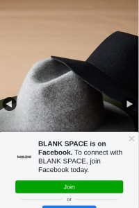 BLANK SPACE – Win a Hat Fb Like Share & Tag