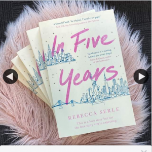 Books With Heart – Win 1 of 5 Advance Copies of In Five Years By Rebecca Serle