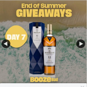 Boozebud – Win this The Macallan Double Cask 12 Year Old Gift Box & Celebrate The End of Summer Is Style (prize valued at $137)