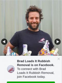Brad Loads It Rubbish Removal easter hamper and a $200 rubbish removal voucher – Will Be Selected Randomly on The 10/4/2020 at 7pm