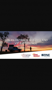 Brisbane Airport – Win a Vision Splendid VIP Experience In OuTBack Queensland