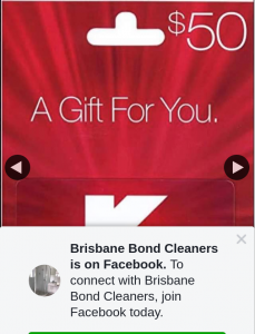 Brisbane Bond Cleaners – Win a $50 Kmart Gift Card