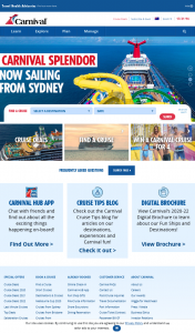 Carnival Cruises – Win a Pacific Island Cruise for 4 People Departing Sydney 2022 (prize valued at $4,296)