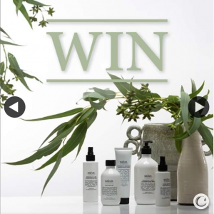Caroma – Win $250 Worth of Salus Body Products (prize valued at $250)