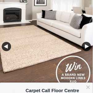 Carpet Call Floor Centre – Win One of Our Stylish Links Rugs
