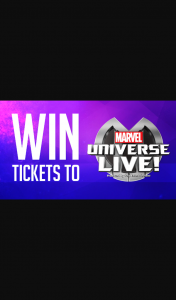 Channel 7 – Sunrise Family – Win a Family Pass to The All New Marvel Universe Live
