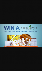 Channel 7 – Sunrise Family – Win a Young Living Nature's Home Essentials Bundle In this Week's Sunrise Family Newsletter