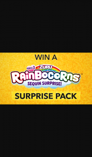 Channel 7 – Sunrise – Win One of 15 Rainbocorn Series 2 Sequin Surprises for Your Kids In this Week's Sunrise Family Newsletter