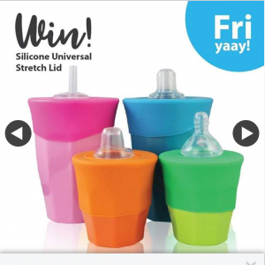 Cherub Baby – Win a Twin Pack of Silicone Universal Stretch Lids