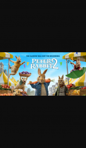 Community News – Win 1 of 25 Double Passes to Peter Rabbit 2