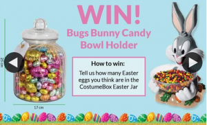 Costume Box – Win Our Bugs Bunny Candy Bowl Holder