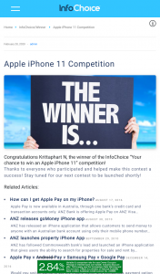 FIVEaa 5AA Dancing with the Stars $1500 cash weekly – Win Iphone 11  Get Your Free Infochoice Property Report to Enter