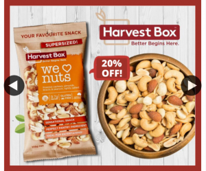 Harvest Box – Win a Box of We <3 Nuts