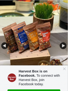 Harvest Box – Win a Whole Box of These Share-Size Goodies (which Are Great As Ingredients to Add to Your Favourite Meals