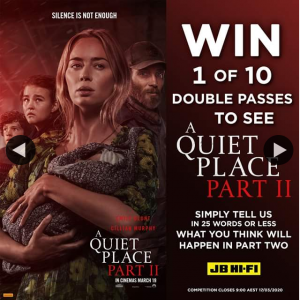 JB HiFi – Win 1 of 10 Double Passes When You Comment With What Your Predictions Are for this Next Chapter