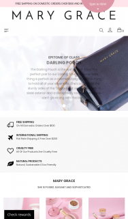 Mary Grace – Win a $50 Voucher From Them (prize valued at $150)