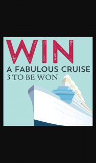 McGuigan – a Sydney Long Weekend Cruise for 2 With Flights and Accommodation (prize valued at $2,800)