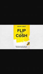 Money Magazine – Win One of 10 Copies of Flip for Cash