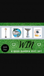 Mouths of Mums – Win a Garden Gift Set (prize valued at $500)
