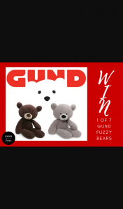 Mouths of Mums – Win 1 of 7 Gund Fuzzy Bears From Jasnor