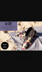 Mouths of Mums – Win 1 of 6 Pairs of The Bondi Shoe Club Canvas Shoes