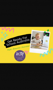 Mouths of Mums – Win 1 of 10 Personalised At-Home Learning Activities for You and Your Child to Enjoy From Get Ready for School Australia (prize valued at $169.95)