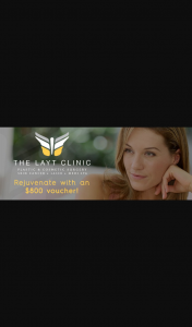 MyGC – Win a $800 Voucher for Non Surgical Use at The Layt Clinic Pick Up Prize Southport Qld (prize valued at $800)