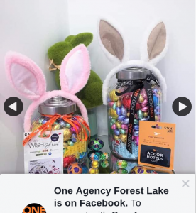 One Agency Forest Lake – Win 1st Prize Accor Hotels Gift Card Large Easter Egg Jar 2nd Prize Woolworths Gift Card  Small Easter Egg Jar  (prize valued at $250)