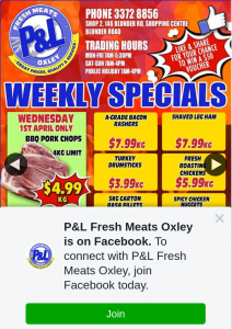 P & L Fresh Meats Oxley – Win $50.00 Worth of Free Meat
