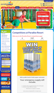 Paradise Resort – Delivery to Anywhere In Australia (prize valued at $1,464)