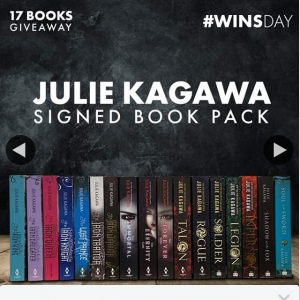 QBD Books – Win a 17 Signed Book Pack By Julie Kagawa