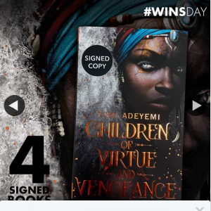 QBD Books – Win One of Four Signed Copies of Children of Virtue & Vengenance Books