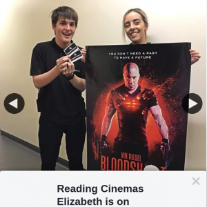 Reading Cinemas Elizabeth – Win a Double Pass to Bloodshot