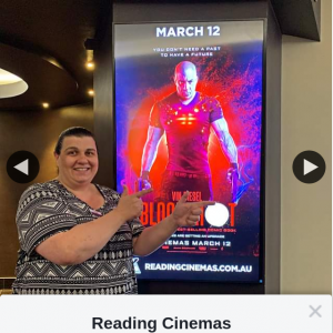 Reading Cinemas Rhodes – Win a Double Pass to Bloodshot
