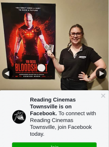 Reading Cinemas Townsville – Win a Double Pass to Bloodshot