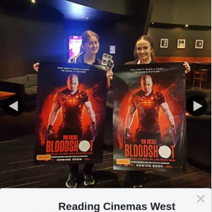 Reading Cinemas West Lakes – Win a Double Pass to Bloodshot